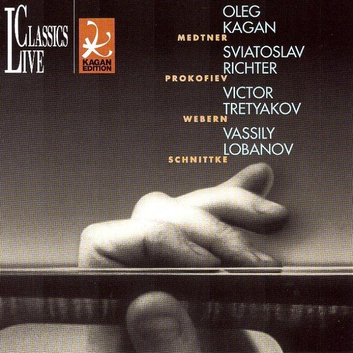 Vol XIX: Medtner, Violin Sonata op 21, Prokofiev, Sonata for Two Violins  op 56* Webern, Pieces for Violin & Piano op 7** Schnittke, Violin Sonata